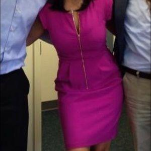 Rebecca Taylor Fuschia Dress Size 4
